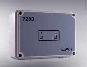 Modul de comanda adresabil cu 3 intrari si 6 iesiri, UNIPOS FD7203
