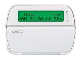Tastatura cablata cu ecran LCD, 64 zone, DSC PK 5500