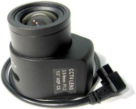 """Lentila de camera de supraveghere video autoiris varifocal 3.5-9mm  1/3"""" LVA 3.5-9mm"""