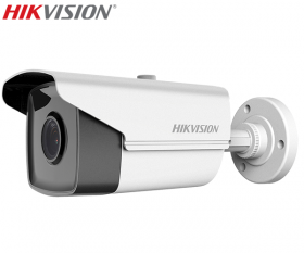 Camera supraveghere video Turbo HD, 2MP, IR 80m, Hikvision DS-2CE16D8T-IT5F