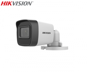 Camera supraveghere video Turbo HD, 5MP, IR 30m, Hikvision DS-2CE16H0T-ITFS