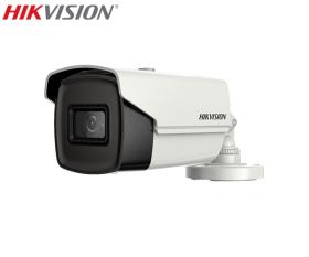 Camera supraveghere video Turbo HD, 5MP,  IR 80m, Hikvision DS-2CE16H8T-IT5F