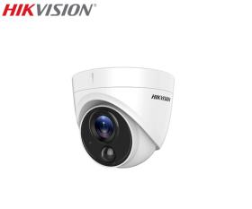 Camera supraveghere video HDTVI, 5MP, IR 20m, Hikvision DS-2CE71H0T-PIRL