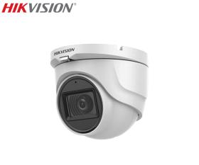 Camera supraveghere video cu audio, 5MP, IR 30m, Hikvision DS-2CE76H0T-ITMFS