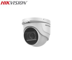 Camera supraveghere video cu audio, 5MP, IR 30m, Hikvision DS-2CE76H8T-ITMF