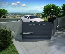 Automatizare porti batante 2x3m, Nice, Toona4024KCE