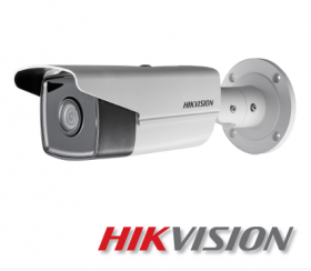 Camera supraveghere video IP, 8 MP, IR 50m, Hikvision DS-2CD2T83G0-I5