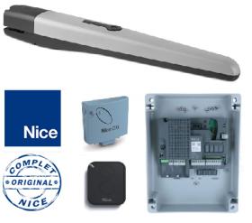 Kit automatizare pentru porti batante, Nice, TO4005KCE