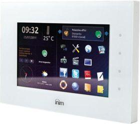 Tastatura touchscreen 7 inci cu interfata LAN INIM Evolution/Sx pentru centralele SmartLiving