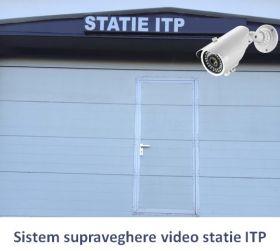 Sistem supraveghere statie ITP