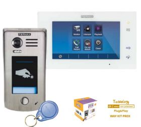 Video interfon digital pe 2 fire pentru o familie, Fermax 1/WAY Kit PROXL