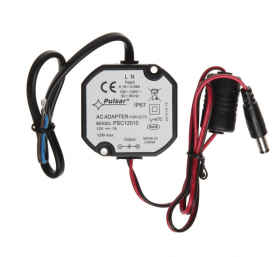 Sursa alimentare CCTV capsulata Pulsar PSC12010, 12V/1A, IP67