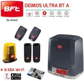 Automatizare poarta culisanta 400Kg BFT Deimos Ultra BT A400 + B-EBA WiFi