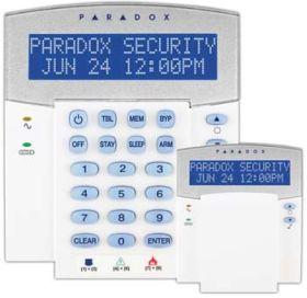 Tastatura LCD, pe fir, 32 zone, Paradox, K32LCD