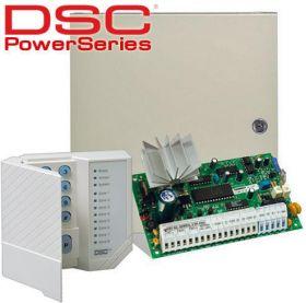 Centrala alarma antiefractie DSC PC585 cu tastatura LED