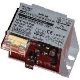 Transformator capsulat pentru alarme 16V 45W TC45/16