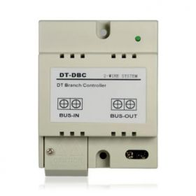 Controler de ramificatie pe 2 fire pentru interfon 2EASY, DBC