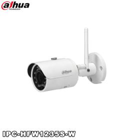 Camera supraveghere video IP wireless 2MP, IR 30m, Dahua IPC-HFW1235S-W