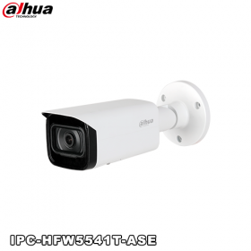 Camera supraveghere video IP, 5MP, IR 80m, Dahua IPC-HFW5541T-ASE