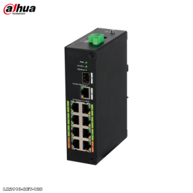 Switch 8 porturi ePoE, Dahua, LR2110-8ET-120