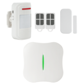 Kit alarma wireless, comunicatie WIFI, PSTN, 8 zone KR-W10
