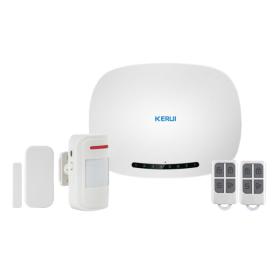 Kit alarma wireless, comunicatie GSM, 6 zone KR-G1