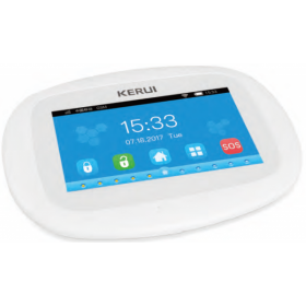 Kit alarma wireless, comunicatie WIFI si WCDMA( 2G, 3G), 99 zone KR-K5