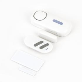 Contact magnetic standalone wireless, cu 4 zone, sirena incorporata si telecomanda pentru usa/ fereastra KR-D2