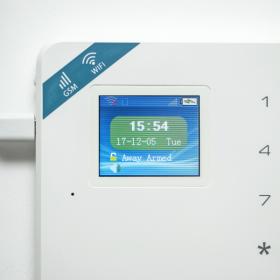 Kit alarma wireless, comunicatie GSM si WIFI, 99 zone KR-W18