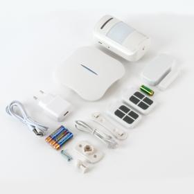 Kit alarma wireless, comunicatie WIFI, PSTN, 8 zone KR-W1