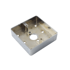 Carcasa pentru montarea aplicata a butoanelor din metal MBB-801B-M