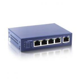 Switch PoE 4+1 porturi 10/100M LS5004P