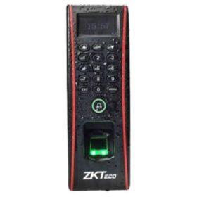 Controler de acces cu functie de pontaj, cu cititoare de amprente si de cartele incorporate, exterior, IP65, YLI FPA-1700