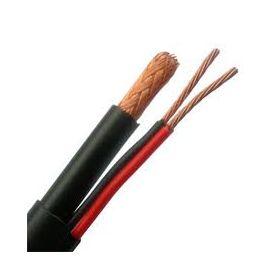 cablu combinat coaxial+alimentare