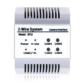 Controler CCTV pentru sistemele 2Easy, DT-SCU