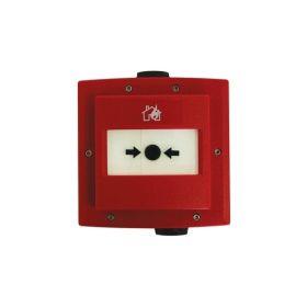 Buton manual de semnalizare incendiu adresabil de exterior, Enea EC0010E