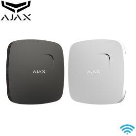 Detector wireless de fum si temperatura Ajax FireProtect