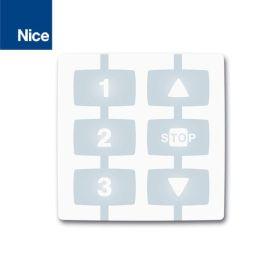 Telecomanda cu 3 canale si un grup, Nice, WM003C1G