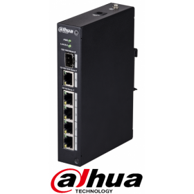 Switch Ethernet 4 Porturi, Dahua, PFS3106-4T