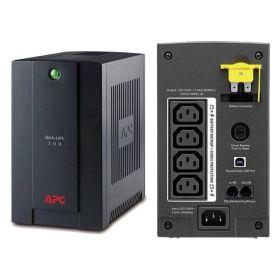 UPS 700 VA, 390 W, USB, RJ11, Line-interactive, APC, BX700UI