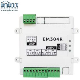 Modul adresabil 4 iesiri pe releu protocol Enea, Inim, EM304R