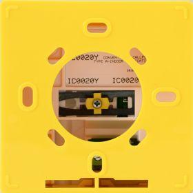 Buton manual de semnalizare incendiu conventional seria Iris, INIM IC0020Y