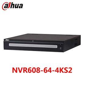 NVR 64 canale video IP, rezolutie maxima 12MP, Dahua NVR608-64-4KS2