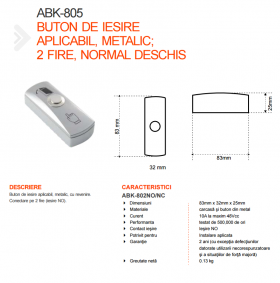 Fisa tehnica ABK-805