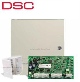 Centrala alarma antiefractie DSC PC1616 cu tastatura LED