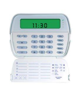 Tastatura cablata cu ecran LCD si pictograme, 64 zone, DSC RFK5501
