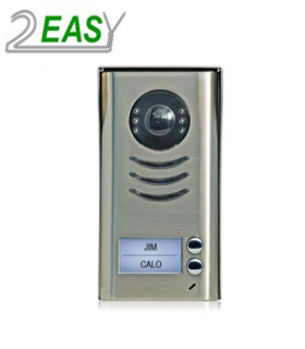 Post exterior videointerfon, 2 butoane, sistem pe 2 fire, DT592