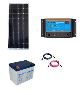 Kit fotovoltaic pentru sistem de supraveghere video