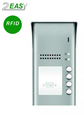 Post de exterior interfon audio 2Easy DT607A-ID-S4