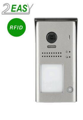 Post exterior videointerfon cu 1 buton de apel si RFID, 2Easy DT607-ID-S1